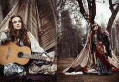 BOHEMIA -Gypsy Dance by Nava Monde, via Behance