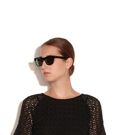 A.P.C. Retrosuperfuture Sunglasses in black.