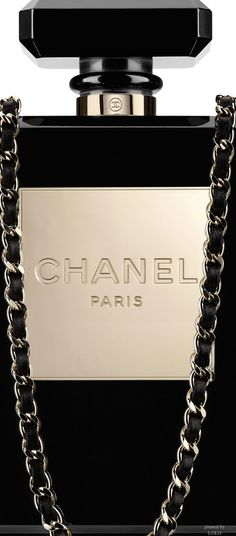 CHANEL ~ Perfume Bottle Shaped Evening Bag