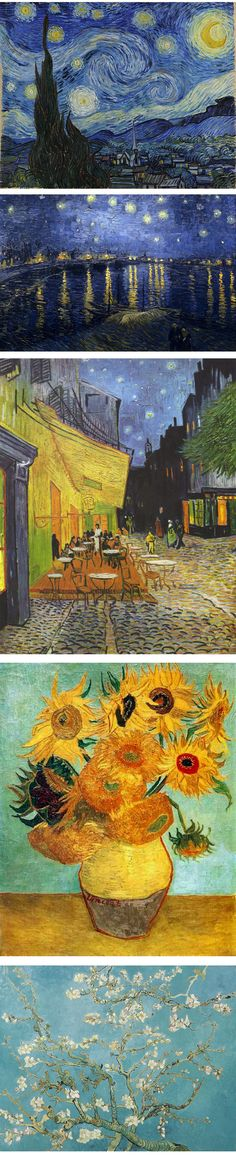 5 Great Works by Vincent van Gogh [click through to read about them]