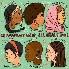 Nadia Akingbule (@nadiaakingbule) • Instagram photos and videos Illustrators On Instagram, Black Artists, How To Get, Hair Styles, Cover, Illustration, Beautiful, Feminism, Curls