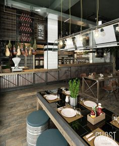 VrayWorld - Smokehouse Restaurant