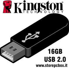 KINGSTON PENDRIVE 16GB USB 2.0