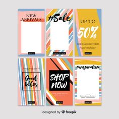 Instagram stories template Vector | Free Download Social Media Icons, Social Media Template, Page Template, Templates, Instagram Post Template, Free Frames, People Illustration, Web Banner, Vector Free