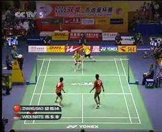 Crazy badminton