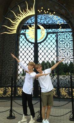 Taoris. Kris is really like the sun &  Tao the moon.