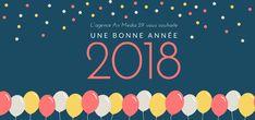 Air Media29 Agence Web & Webmarketing - Brest Finistère vous souhaite une très belle année 2018 !!  #AgenceInternet #webmarketing #WebAgency #communitymanager