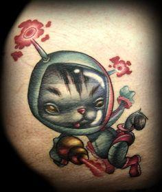 space-kitty-cat-cartoon-tattoo-d...