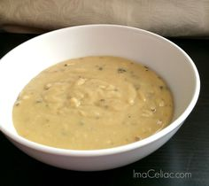 5 GF Cream of Mushroom Soup