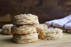 Ham and Cheddar Biscuits   Serious Eats : Recipes