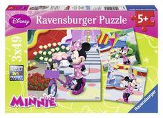 Ravensburger Puzzle - Disney Pretty Minnie Mouse (3X49pcs) (09416)  Manufacturer: Ravensburger Enarxis Code: 016021 #toys #puzzle #Ravensburger #Disney #Minnie