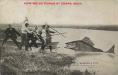 """How we do things at Crapo, Mich."" From 1910."