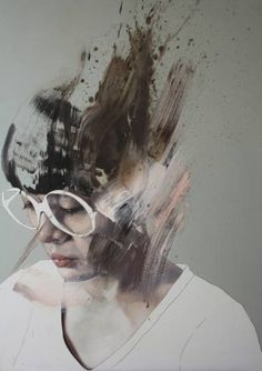 "Saatchi Art Artist Jessica Rimondi; Painting, ""Il lago è fermo"" #art"
