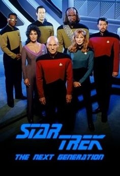 Star Trek: The Next Generation - still my favorite Star Trek series.