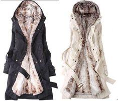 Cool Fashion Womens Thicken Warm Winter Coat Hood Parka Overcoat Long Jacket Outwear  2017-2018