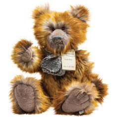Silver Tag 5 Noah Teddy Bear limited edition to 1500 pieces