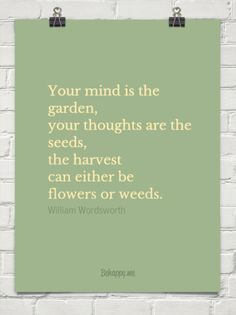 The way you think and talk to yourself will determine what you believe.