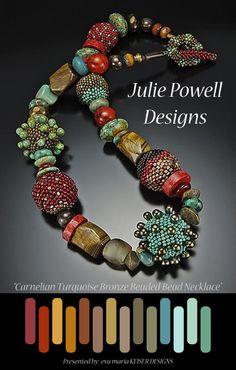 Colorway: Julie Powell WEBSITE: http://www.juliepowelldesigns.com/ Facebook Page: https://www.facebook.com/pages/Julie-Powell-Designs/107937349310792