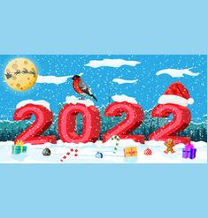 Happy New Year Banner, Happy New Year Vector, Happy New Year Greetings, New Year Greeting Cards, Xmas Cards, New Year Holidays, Christmas And New Year, Merry Christmas, Anul Nou
