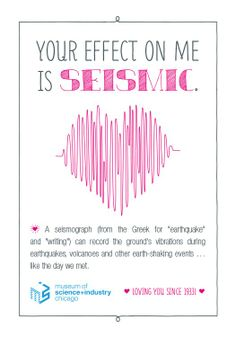 "Surprise your coworkers, friends, family or that special science squeeze with one of MSI's special Valentine's Day cards! Let them know you think of them more than just ""periodically."""
