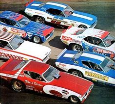 'All the new Funny Cars' - from the cover of Car Craft magazine - June 1971