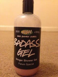 Badass Gel Ginger Shower Gel: Forum Special