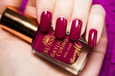 Barry M Sunset Nail Paint in Fuchsia Generation