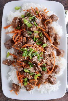 Slow Cooker Korean Beef {With Instant Pot Directions}
