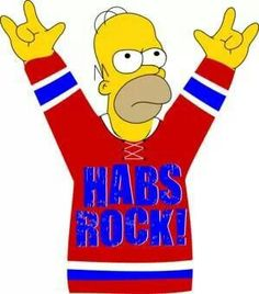 The Montreal Canadiens and Pizza! Two of Homer's favourite things :). Montreal Canadiens, Nhl, Hockey Pictures, Hockey Room, Hockey Memes, Of Montreal, Vancouver Canucks, Canada, National Hockey League