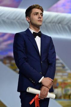 Xavier Dolan at event of Mommy (2014)