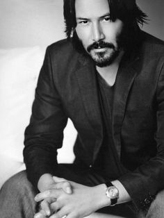 Keanu Reeves, Keanu Charles Reeves, Hot Actors, Actors & Actresses, Most Handsome Actors, Tyson Beckford, Matthew Mcconaughey, Hollywood Actor, Beard Styles