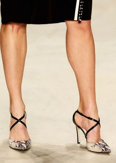 Gorgeous Shoes at Mehtap Elaidi #MBFWI....