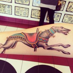 Pics or It Didn't Happen: The Making of Dogster Editor Janine Kahn's Greyhound Tattoo   Dogster