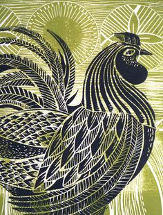 patternprints journal: BEAUTIFUL PATTERNS IN FANTASTIC PRINTS FROM LINOCUTS BY AMANDA COLVILLE