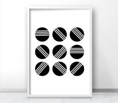 Abstract Nordic Minimalist Wall Art Posters Black and White Canvas Prints Modern Scandinavian Artwork For Office or Living Room Home Decor Large Art Prints, Modern Art Prints, Canvas Prints, Scandinavian Artwork, Black And White Wall Art, Black White, Or Mat, Inspirational Wall Art, Abstract Wall Art