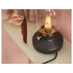 IKEA TÄRNABY table lamp If you want to dim the light, just turn the knob. At Home Furniture Store, Modern Home Furniture, Ikea Canada, Decoration Ikea, Ikea Us, Old Lamps, Small Lamps, Ikea Family, Home