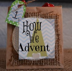 How We Advent {and a giveaway!}