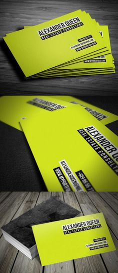 Neon Concrete Business Card http://www.arcreactions.com/ #bestbusinesscards