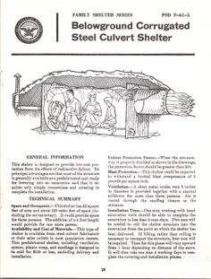 A few expedient shelters Fallout Shelters Pinterest Fallout