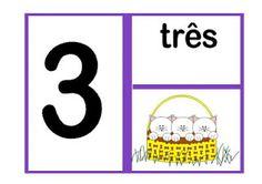 A MAGIA DA LITERATURA INFANTIL: Números para sala de aula