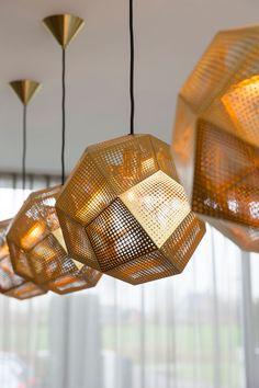 residential project choc studio - tom dixon etch light - publication Stijlvol Wonen 2015 - photography Denise Keus