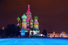 Catedral de São Basílio, na Rússia