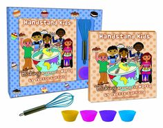 Travel around the world with your kids from the comfort of your own kitchen!  Handstand Kids baking sets will have your picky eaters trying South African Pumpkin Bread,  Korean Sweet Potato Cake and  recipes from all over the globe.  Fun, tasty and educational too!