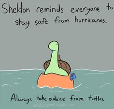 and earthquakes! Sorry, I know you don't have hurricanes but I thought this was cute.