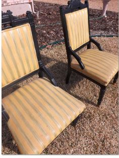 Vintage Hollywood Regency Chairs By PIGGYFINDS On Etsy, $125.00