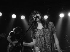 Tess Parks and Anton Newcombe at Magnet Club