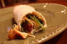 Southwestern Ranch Chicken Club Wraps Wrap Recipes, New Recipes, Favorite Recipes, Healthy Recipes, Yummy Recipes, Chicken Club, Ranch Chicken, I Love Food, Good Food