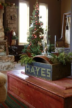 SEASONAL – CHRISTMAS – the magic of the holiday makes another appearance in a brilliant quest to find the perfect christmas tree, perhaps a primitive christmas tree with a cookware theme is best this year, photo by magdalen blue photography.