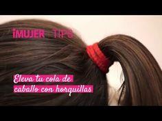 Tips iMujer | Eleva tu cola de caballo con horquillas | @iMujer