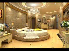 Luxury interior decoration for wedding Dream Bedroom, Home Bedroom, Modern Bedroom, Master Bedrooms, Fancy Bedroom, Bedroom Ideas, Bedroom Inspiration, Bedroom Decor, Bedroom Colour Palette
